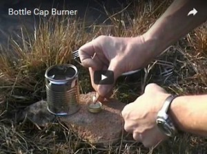 Bottle Cap Burner