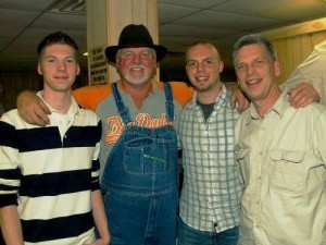 Big Tom, my sons, and Me