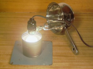 Light Bulb Water Heater