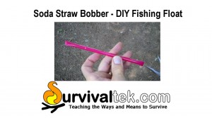 Soda Straw Bobber – DIY Fishing Float