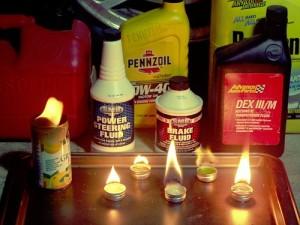 Emergency Car Fuels