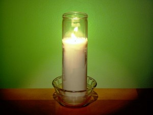 Prayer Candle – A Bright Idea