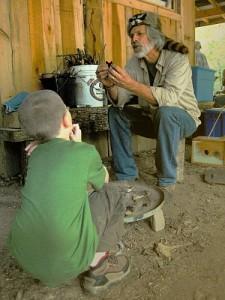 Turtle Island Flint And Steel Demo