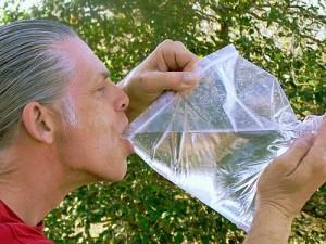 Sealable Plastic Water Bag