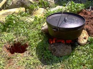 Dakota Hole Cooking