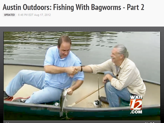 Fishing With Bagworms