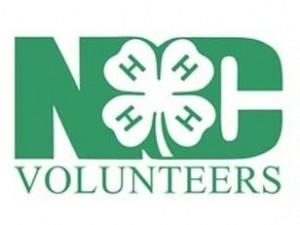 NC 4-H Volunteers Logo