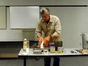 """Grid-Down"" Talk At Wilkes County Library"