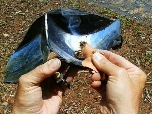 Reflective Solar Fire Method