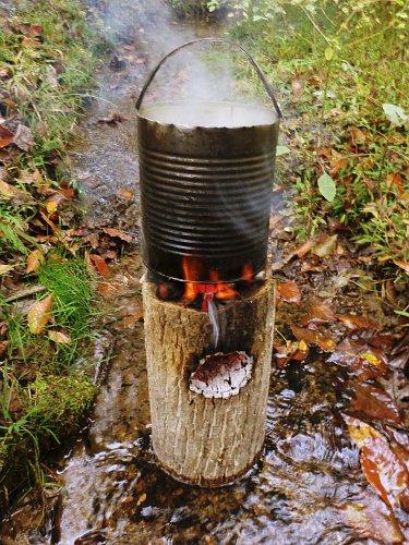 Survivaltek One Log Rocket Stove