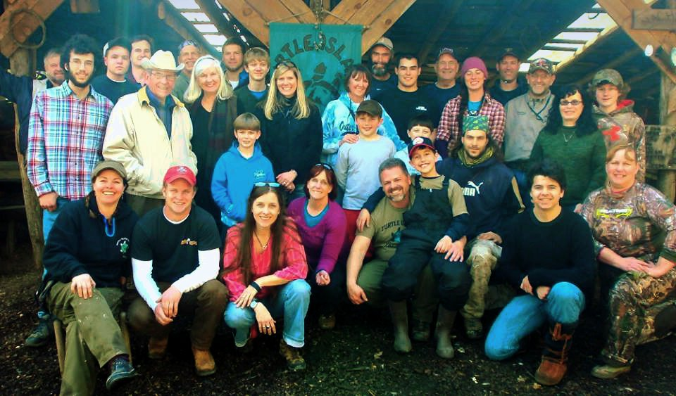 2014 Turtle Island Preserve Volunteers
