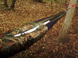 My Hammock Insulation Tests