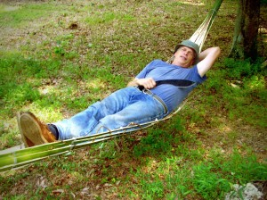 Improvised Bamboo Hammock