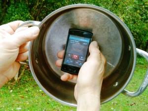 Cell Phone Reception Enhancement