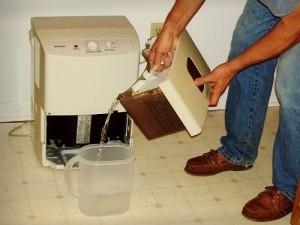 Dehumidifier Water Collection
