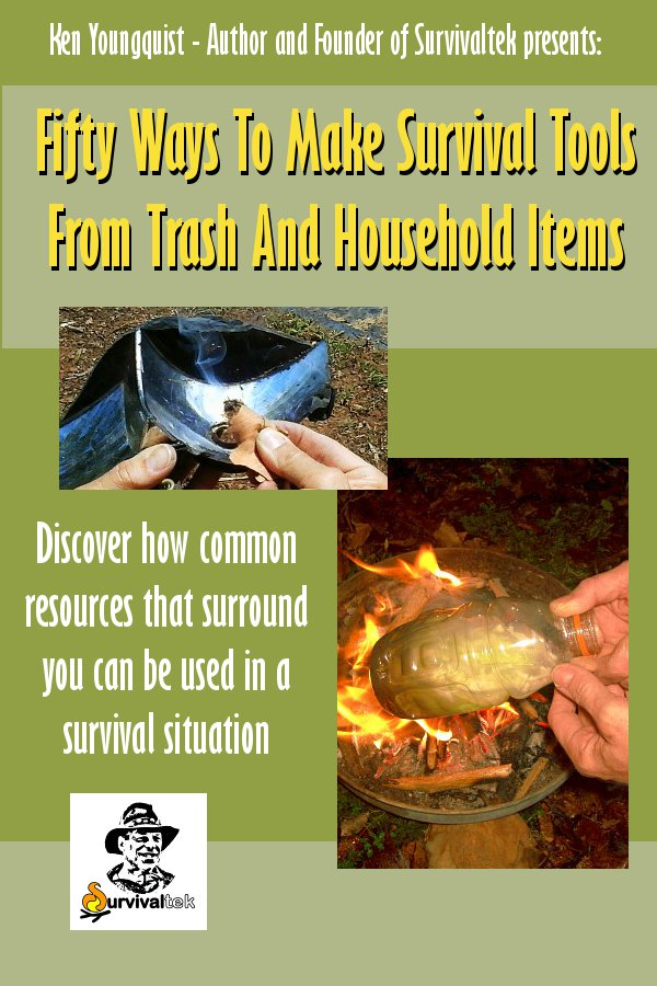Book Cover - Fifty ways to make survival tools from trash and household items