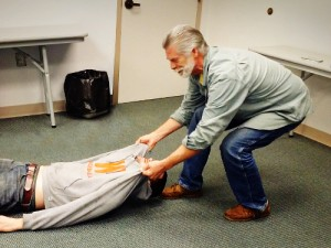 First Aid Spinal Axis Transport