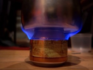 One-Can Alcohol Burner