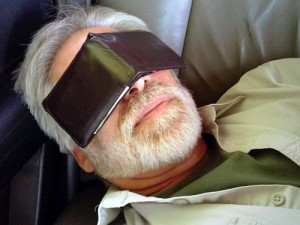 Improvised Sleep Mask