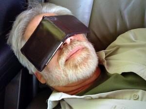 Improvised Sleep Mask