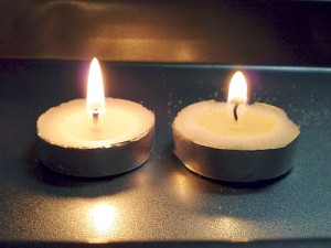 Unsalted/Salted Candles