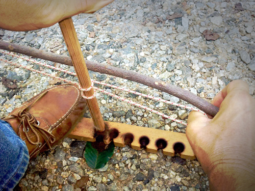 Twin Cord Bow