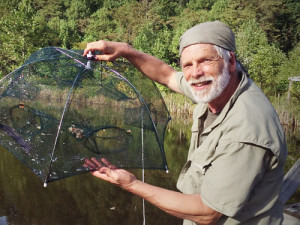 Portable Folding Fish Trap