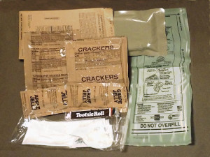Civilian MRE Contents