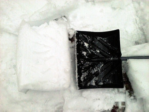 Snow Shovel And Form