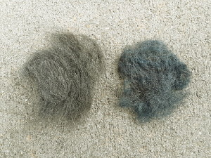 Steel Wool Pre And Post Heat Treatment