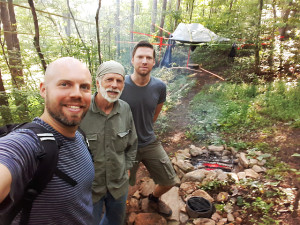 Suspended Sanctuary Tree Tent