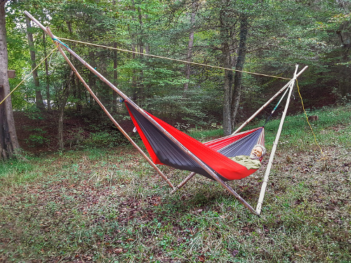 Four Pole Hammock Stand