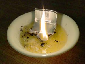 Butter Slush Lamp