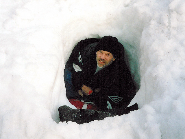 Snow Tunnel Shelter